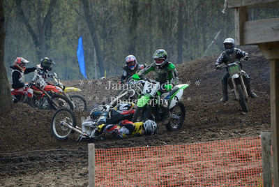 Motocross Racing at Byron, Illinois