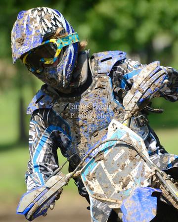 Motocross Racing at Byron, Illinois