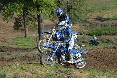 Motocross Racing in Byron, Illinois - August 5, 2012 - Rider # 12