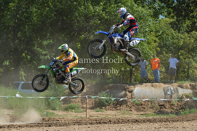 Motocross Racing in Byron, Illinois - August 5, 2012 - Rider # 21
