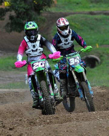 Motocross Racing in Byron, Illinois - August 5, 2012 - Rider # 20
