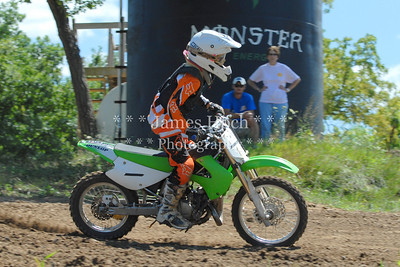 Motocross Racing in Byron, Illinois - August 5, 2012 - Rider # Slash