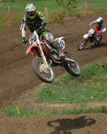 Motocross Racing in Byron, Illinois - July 22, 2012 - Rider # 028