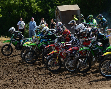 Motocross Racing in Byron, Illinois - June 3, 2012 - Rider # Track