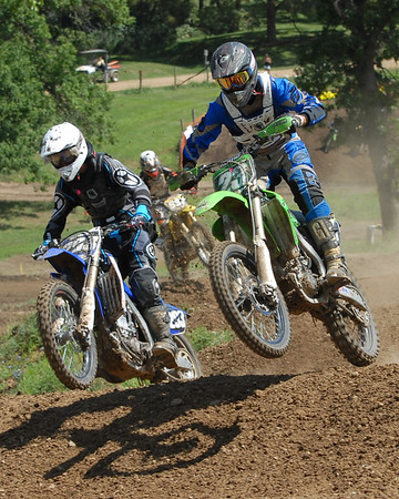 Motocross Racing in Byron, Illinois - August 5, 2012 - Rider # 23