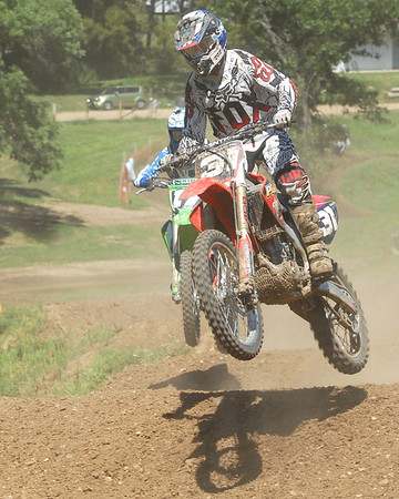 Motocross Racing in Byron, Illinois - August 5, 2012 - Rider # 31