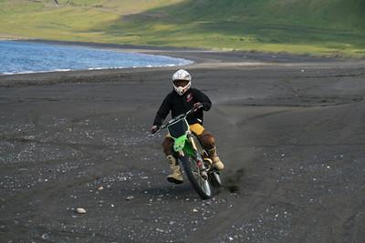 Fjaran við Mávahlíð sumarið 07
