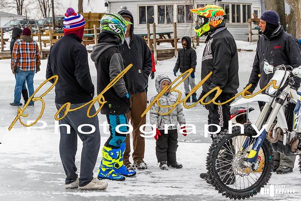 Ice Racing on Irondequoit Bay 2-2-19