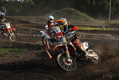 Supercross Racing at Wilmington, Illinois - Joliet Motosports - August 25, 2012 - Rider # 004