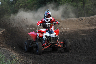 Supercross Racing at Wilmington, Illinois - Joliet Motosports - August 25, 2012 - Rider # Quad