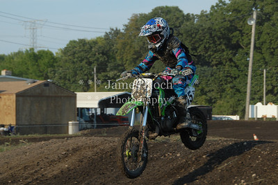 Supercross Racing at Wilmington, Illinois - Joliet Motosports - August 25, 2012 - Rider # 015
