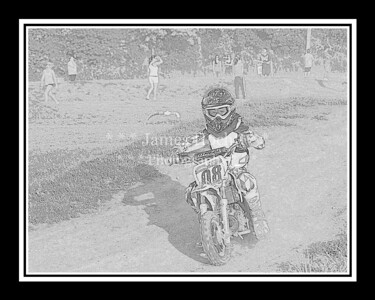 Supercross Racing at Wilmington, Illinois - Joliet Motosports - August 25, 2012 - Rider # 008