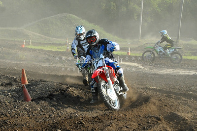 Supercross Racing at Wilmington, Illinois - Joliet Motosports - August 25, 2012 - Rider # 014