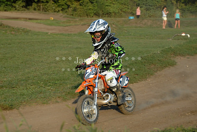 Supercross Racing at Wilmington, Illinois - Joliet Motosports - August 25, 2012 - Rider # 022
