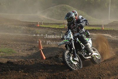 Supercross Racing at Wilmington, Illinois - Joliet Motosports - August 25, 2012 - Rider # 002