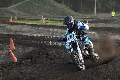 Supercross Racing at Wilmington, Illinois - Joliet Motosports - August 25, 2012 - Rider # 018
