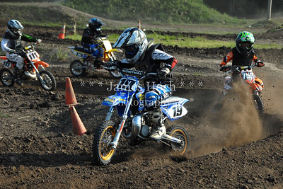 Supercross Racing at Wilmington, Illinois - Joliet Motosports - August 25, 2012 - Rider # 019