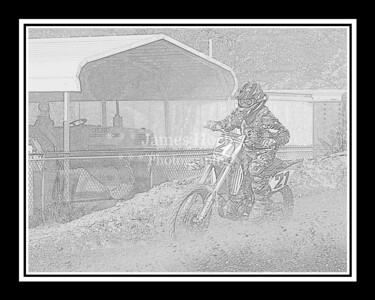 Supercross Racing at Wilmington, Illinois - Joliet Motosports - August 25, 2012 - Rider # 021