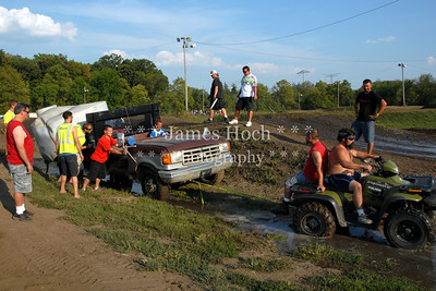 Supercross Racing at Wilmington, Illinois - Joliet Motosports - August 25, 2012 - Track