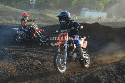 Supercross Racing at Wilmington, Illinois - Joliet Motosports - August 25, 2012 - Rider # 013