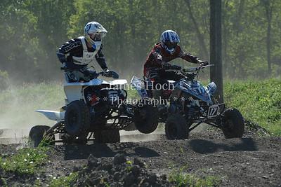 Racing at Wilmington, Illinois - Joliet Motosports - September 9, 2012 - Rider # Quad 093