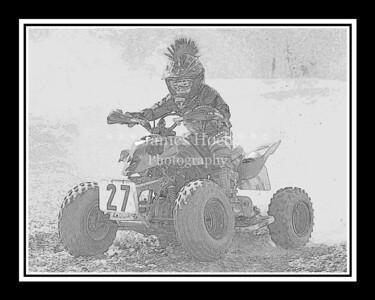 Racing at Wilmington, Illinois - Joliet Motosports - September 9, 2012 - Rider # Quad 027