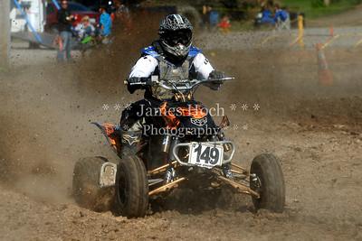 Racing at Wilmington, Illinois - Joliet Motosports - September 9, 2012 - Rider # Quad 149