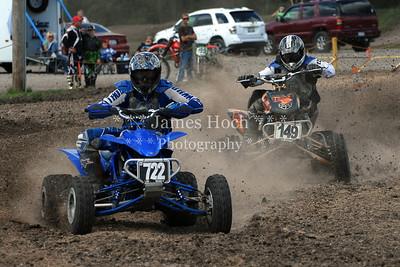 Racing at Wilmington, Illinois - Joliet Motosports - September 9, 2012 - Rider # Quad 722