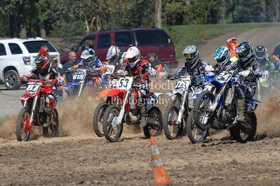 Racing at Wilmington, Illinois - Joliet Motosports - September 9, 2012 - Race Start