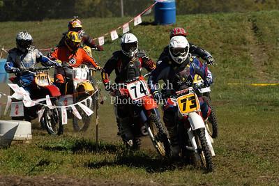 Racing at Wilmington, Illinois - Joliet Motosports - September 22, 2012 - Race Starts