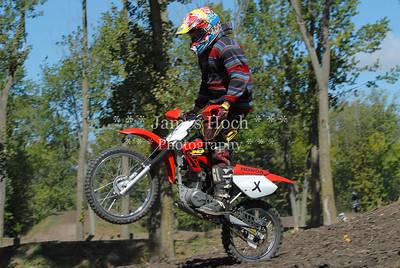 Racing at Wilmington, Illinois - Joliet Motosports - September 22, 2012 - Rider # X