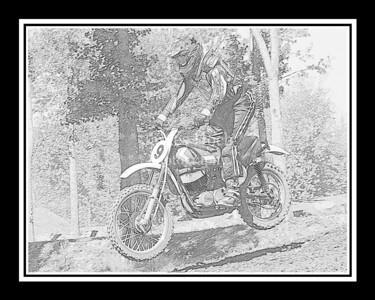 Racing at Wilmington, Illinois - Joliet Motosports - September 22, 2012 - Rider # 009