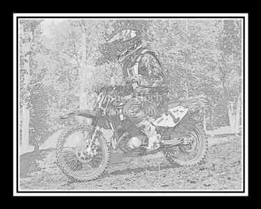 Racing at Wilmington, Illinois - Joliet Motosports - September 22, 2012 - Rider # 002