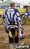 MIke Lafferty prepares for the start