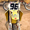 The #96 RM250 of Barry Carsten