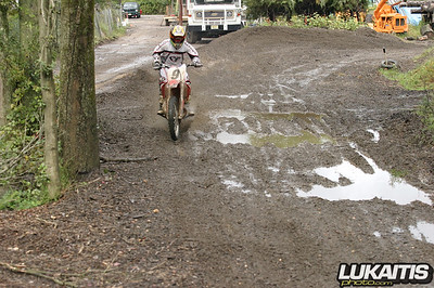Splashin in the mud