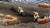 Kent Howerton chases Mike Bell Philadelphia SX 1980