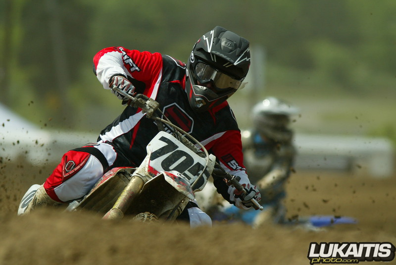 Joel Dengler in one of his rare big bike races this season. Joel's great riding style always leads to excellent images.