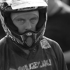 The look of determination on Chris Prenderville as he prepares for a moto at the Unadilla National this season.
