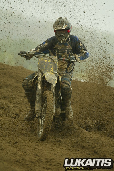 More mud. This time Mike Tippin lets it fly.