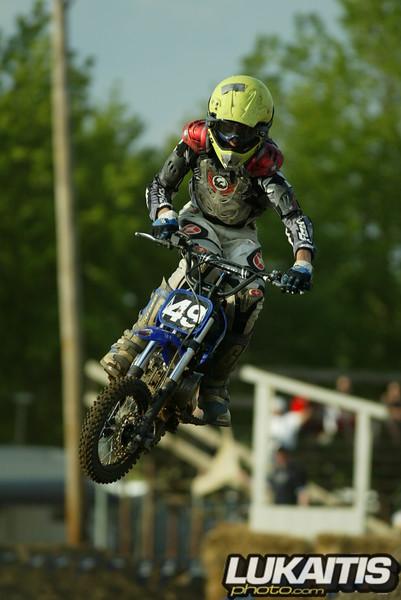 Classis Kessler style. Dakota Kessler flies on his pitbike.