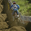 Bobby Kiniry shows how rough the tracks get at the Southwick national. I like the look of the late afternoon shadows.