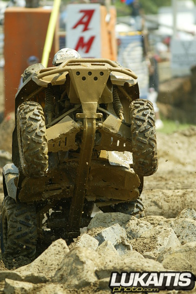 Quad Terrain at the WPSA series. Great fun to watch man and machine punish themselves on the rocks and in the mud.