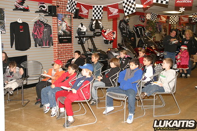 Freehold Honda Peewee and Youth Quad Series Breakfast Awards Banquet held at Freehold Honda 11/25/06