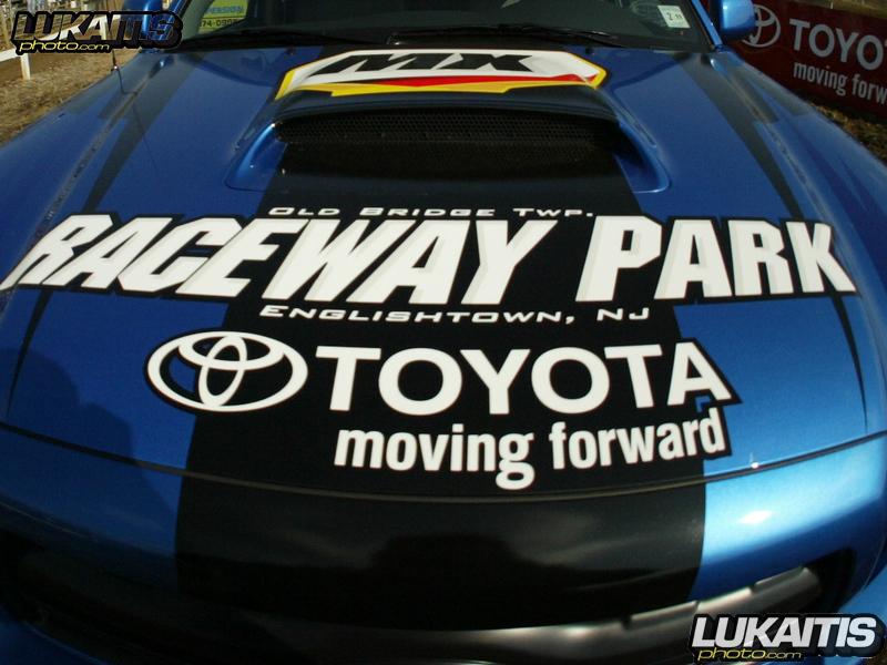 Raceway Park's new truck