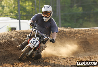 Raceway Park Peewee and Pit Bike 8/15/09