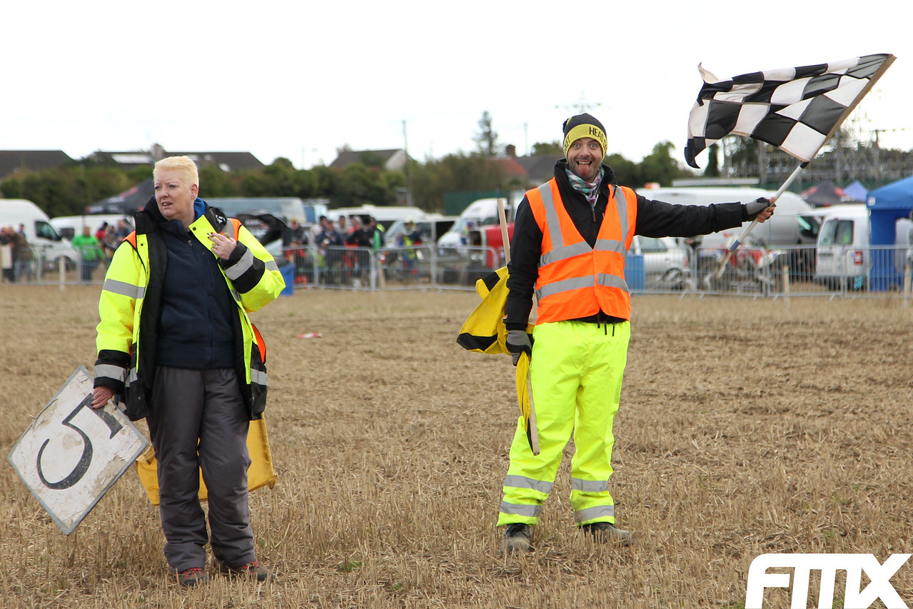 Riders and fans of Milverton Off Road MCC are familiar of these mad marshals.