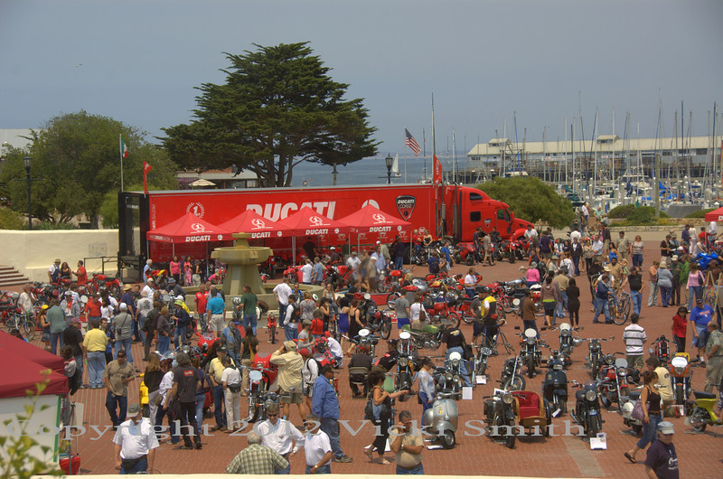 Moto Concorso at the MEET, lots of nice bikes, great weather and interesting sights to see