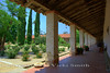 109 degrees in the sun, but in the shade under the porticos it was nice