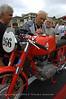 Giuliano Maoggi, winner of the 1956 Motogiro d'Italia, signs Jack Silverman's 125 Gran Sport Maoggi replica